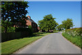 SK8879 : Cowdale Lane at Crown Farm by Ian S
