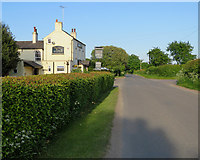 SK5854 : Blidworth Bottoms: The Fox & Hounds by John Sutton