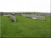 NR2163 : The American Military Cemetery at Kilchoman by M J Richardson