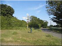 TL3234 : Junction on Rushden Road, Sandon by David Howard