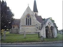 TL2454 : Waresley Church by David Howard