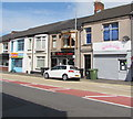 ST3288 : Payne N Gainz and Beth's Bakes, Church Road, Newport  by Jaggery