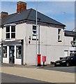 ST3288 : Pillarbox and Royal Mail drop box on a Barnardtown corner, Newport by Jaggery