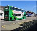ST3188 : Newport Bus double decker, Caerleon Road, Newport by Jaggery