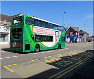 ST3188 : Newport Bus double decker, Caerleon Road, Newport by Jaggery