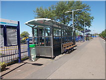 SY0081 : Platform Waiting Room - Exmouth Station by Betty Longbottom