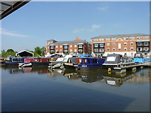 SO8453 : Apartments at Diglis Basin (2) by Jeff Gogarty