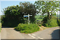SX7640 : Hillhead Cross by Derek Harper