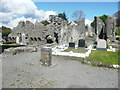 G9278 : The abbey ruins at the crossing of the church, Donegal by Humphrey Bolton