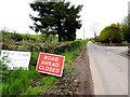 H4868 : Crevenagh Road, Camowen by Kenneth  Allen