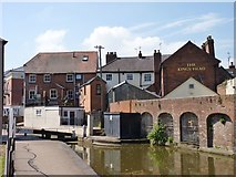 SO8554 : With their backs to the canal by Jeff Gogarty