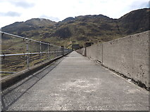NN6039 : Right across the Lawers Dam by Andy Beecroft