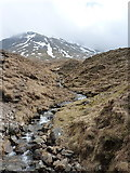NN3139 : Major tributary of the Allt Coire an Dòthaidh by Richard Law