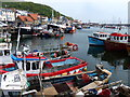 TA0488 : Fishing boats in the Old Harbour at Scarborough : Week 21