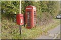 SO6665 : Telephone box, Broad Heath by Richard Webb