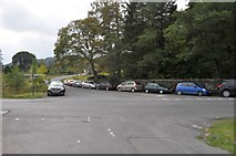 NY3204 : Impromptu Car Parking in Elterwater by Robert Struthers