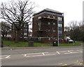 ST2894 : Telecoms cabinets near Blenheim Court, St Dials, Cwmbran by Jaggery