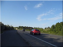 TL3057 : Layby on the A1198 Caxton Bypass by David Howard
