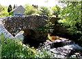 SO1723 : Grade II listed stone bridge in Felindre, Powys by Jaggery