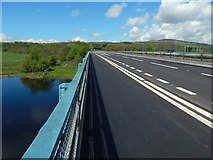 NS3977 : View across the Blue Bridge by Lairich Rig