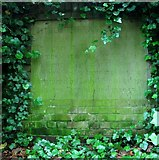 TG2309 : The Secret Garden – commemorative stone by Evelyn Simak