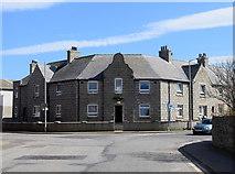 NJ9967 : Council flats facing Quarry Road, Fraserburgh by Bill Harrison