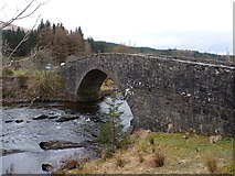 NN2939 : The old Bridge of Orchy by Richard Law