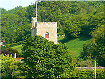SY2591 : Tower, St Michael's Church, Axmouth by Brian Robert Marshall