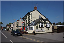 SK8975 : The Angels public house on High Street, Saxilby by Ian S