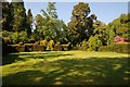 SO2856 : Croquet lawn at Hergest Croft by Philip Halling