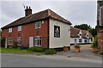 TG1508 : Bawburgh: King's Head PH, Hart's Lane by Michael Garlick