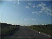TL3241 : Royston Road south of Litlington by David Howard