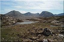 NG9963 : Loch Allt an Daraich from the Mountain Trail by Julian Paren