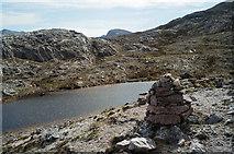NG9863 : Lunar Loch on the Beinn Eighe Reserve Mountain Trail by Julian Paren
