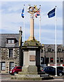 NJ9967 : Mercat cross, Fraserburgh by Bill Harrison