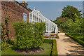 SU8612 : Glasshouse in the Walled Fruit Garden, West Dean Gardens by Ian Capper