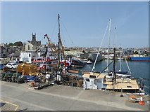 SW4730 : Penzance Harbour by Chris Allen