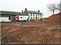 NY4052 : Rubble from demolished stable complex opposite Blackwell House by Rose and Trev Clough