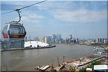 TQ3980 : Cable Car View 2 by Des Blenkinsopp