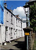 SX2553 : Oldstyle lamp, Princes Street, West Looe by Jaggery