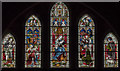 SE9276 : West window, St Andrew's church, East Heslerton by Julian P Guffogg