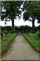 TM1241 : St. Peter's Church path by Geographer