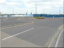 TQ7769 : Hoarding, Gillingham Gate Road by John Baker