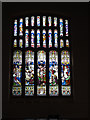 NY1750 : East Window of St Mary's, Abbeytown by Anne Burgess