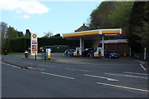 NZ1366 : Shell filling station, Heddon-on-the-Wall by Graham Robson