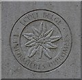 TG2308 : The gravestone of Edith Cavell (detail) by Evelyn Simak