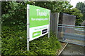 TM1542 : Asda Stoke Park Superstore sign by Adrian Cable