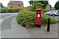 TM1542 : Stoke Park Shops Post Office Postbox by Adrian Cable