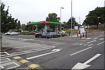 TM1542 : Asda Stoke Park fuel filling station by Adrian Cable