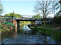 SJ9900 : Stokes [or Stoke's] Bridge, from the north by Christine Johnstone